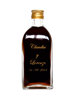 Mini botellita de vino Frasca de Rosca
