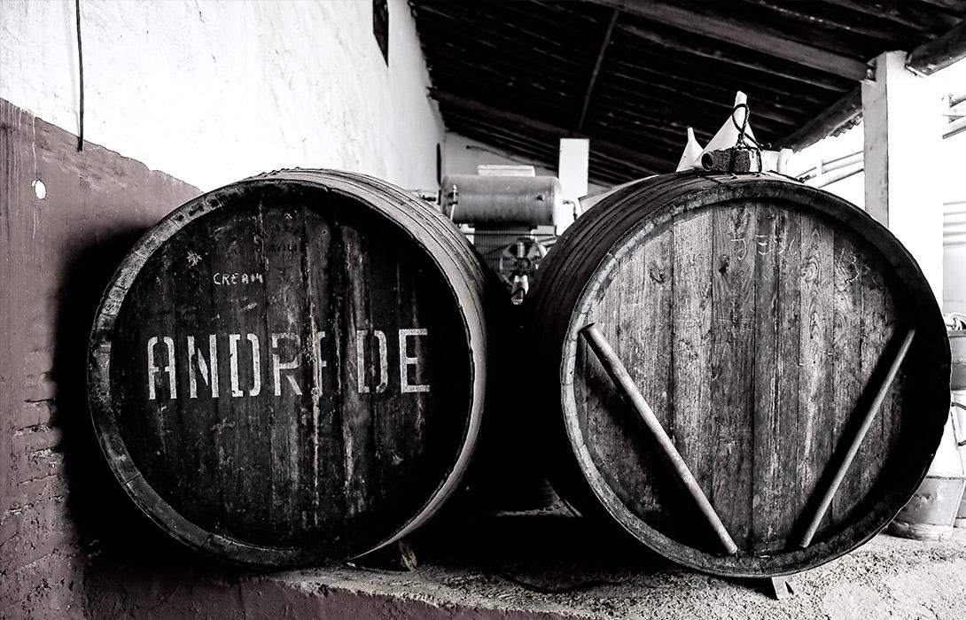 La mejor seleccion de vinos de Huelva en Bodegas Andrade
