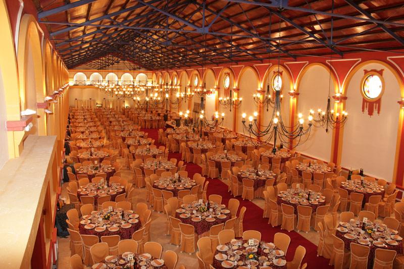 Salón para bodas Sumiller en Bodegas Andrade