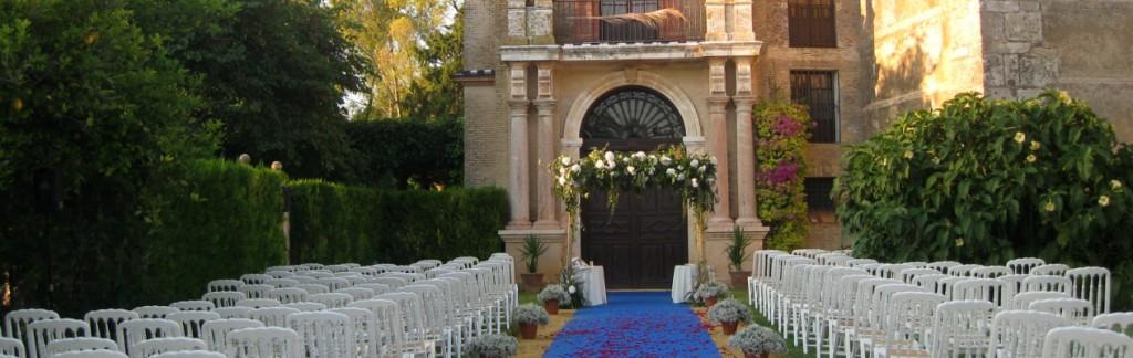 Palacios y fortalezas para celebrar bodas al aire libre