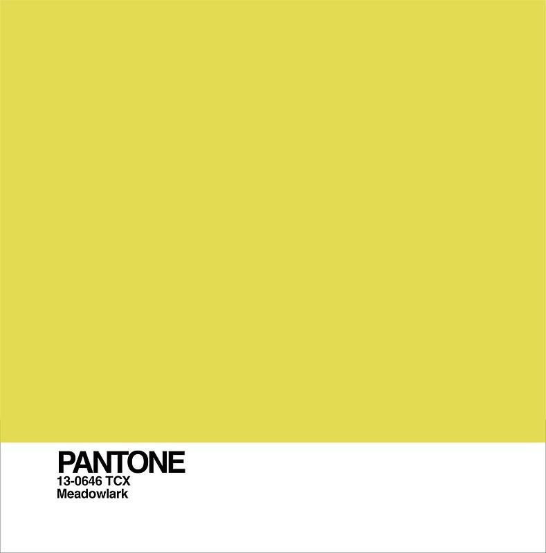 pantone-Meadowlark